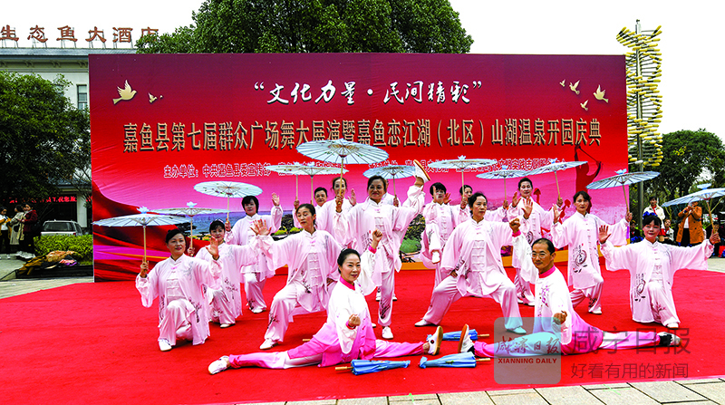 图文毛绒垫:广场舞大展演