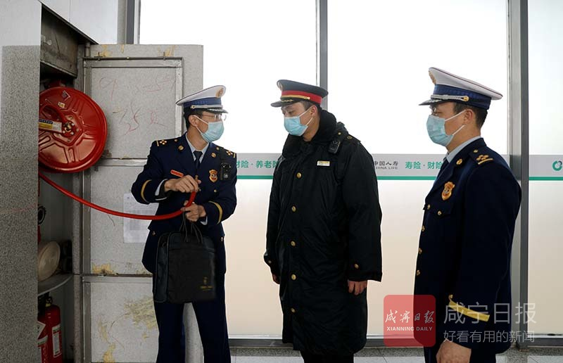 图文:护航春运 消防安全
