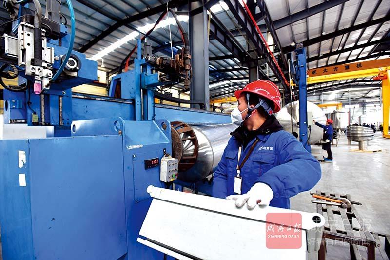 图文:灵坦机电迁扩建一期投产