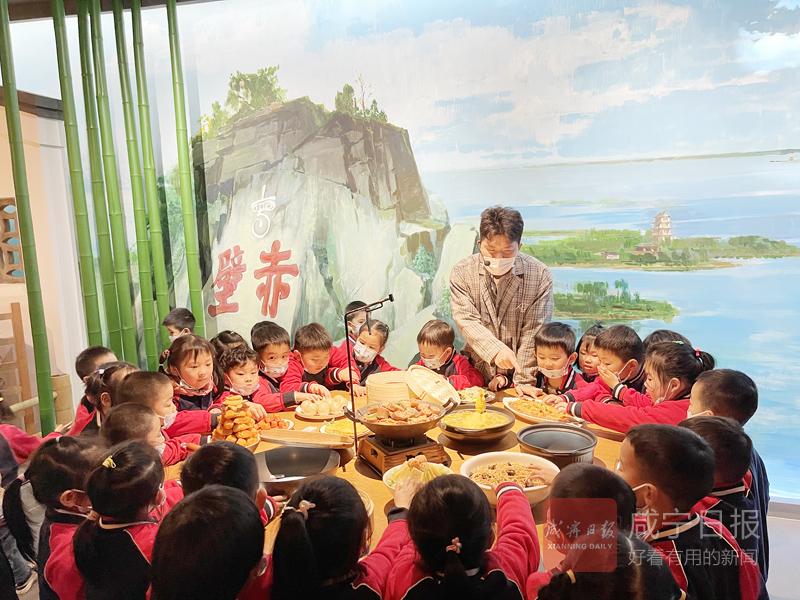 图文:市交通实验幼儿园感受文化底蕴从娃娃抓起
