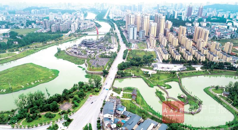圖文:龍潭濕地公園美如畫