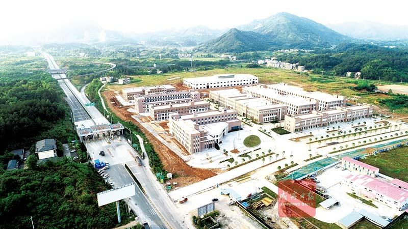图文:南林工业园(一期)即将开园运营