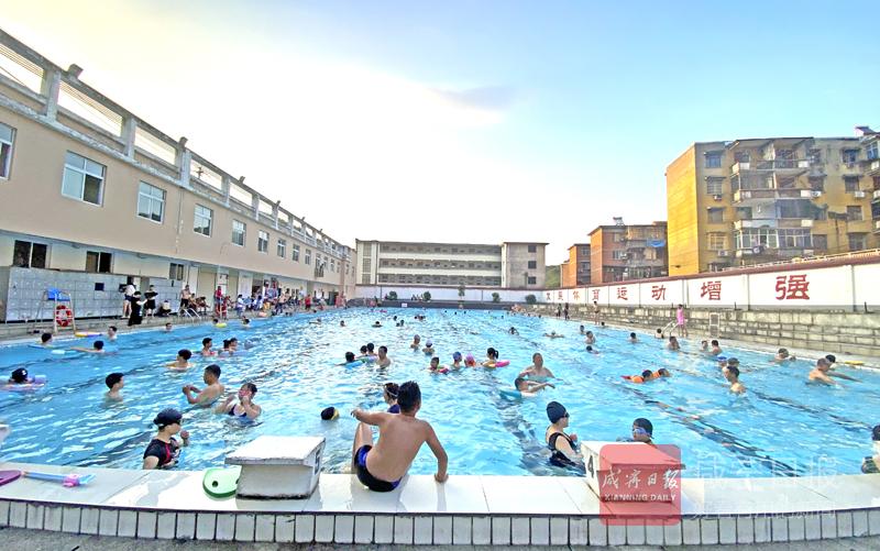图文:游泳消暑人气旺