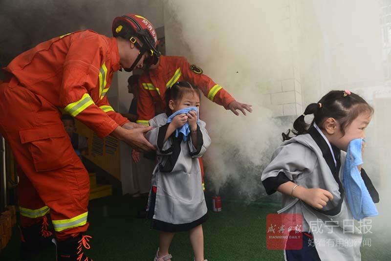 圖文:消防進校園