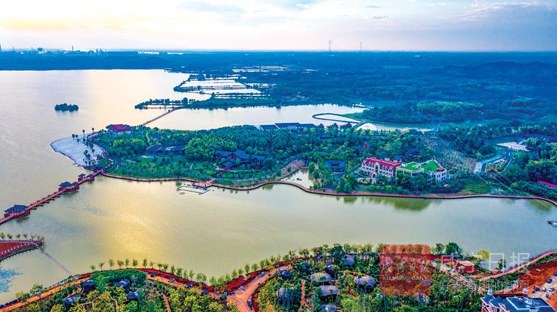 图文:山水一幅画 美丽密泉湖