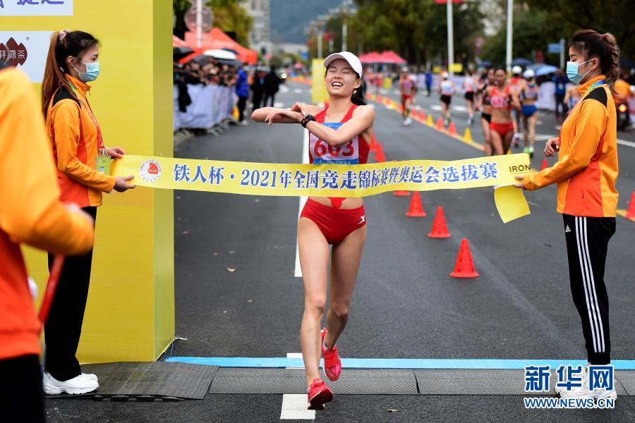 全国竞走锦标赛:杨家玉、刘虹打破女子20公里竞走世界纪录