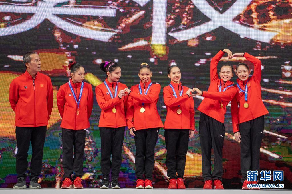 体操全锦赛:女子团体赛况