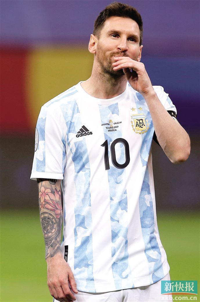 阿根廷闖進美洲杯四強  梅西離貝利紀錄 僅差一球