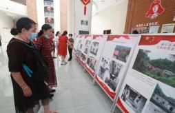 """文物映耀百年征程""""咸宁革命文物图文展""""走进商场"""