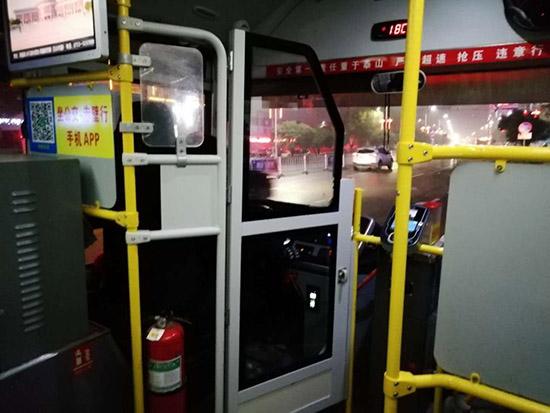 285臺公交車安裝防護裝置  赤壁保出行安全