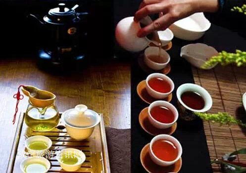 游陆水湖 品青砖茶赤壁举行湘鄂联谊活动