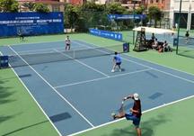 武網城市俱樂部巡回賽  嘉魚站比賽結束