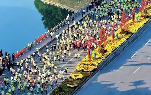 2017金盛兰杯咸宁国际温泉马拉松预热活动通山开跑