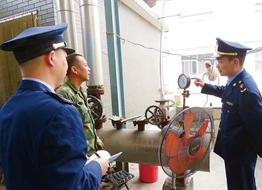 通山县市场监管局开展特种设备安全专项检查