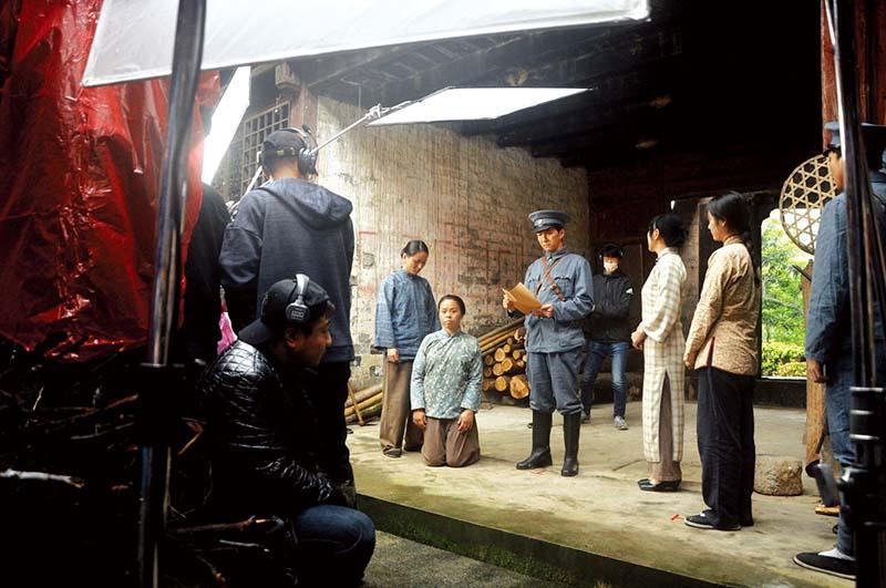 传承鄂南红色基因,献礼建党百年华诞《风起中伙铺》在咸安开拍